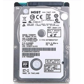 Hd Interno Para Notebook 500gb Sata 5400rpm 2.5m Wd Toshiba