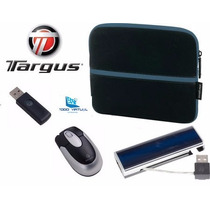 Kit Mini Lapto,tablet Targus Mouse Inalambrico, Hub, Estuche