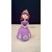 Adorno Para Torta En Porcelana Fría-princesa Sofía