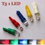 Leds T5 De Un Leds Todos Los Colores!! Ideal Para Tableros!