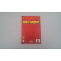 Manual Mission Impossible Original Nintendo 64