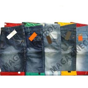 Kit C/ 10 Bermudas Masculinas Jeans Atacado