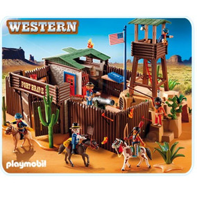 Playmobil 5245 Oeste Fuerte (caja Maltratada)