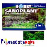 Abono Co2 En Pastillas Para Acuarios Y Peceras Sanoplant