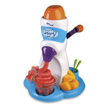 Máquina De Sorvete Infantil Sorveteira Frutas Manual Frosty