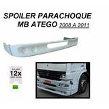 Spoiler Parachoque Caminhão Mb Atego 2008 A 2011
