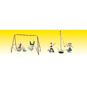 Juego Diversión Del Patio (juego De Columpios, Tetherball