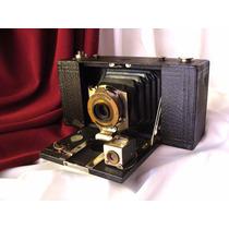 Pat 1909, No2 Folding Pocket Brownie Model B. Antigua Camara