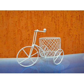 10 Mini Bicicleta Aramada Branca