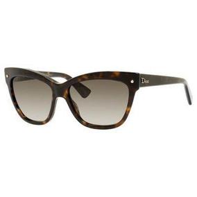 Gafas De Sol Dior 086 Lente Oscuro Marron