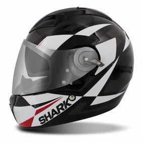Capacete Shark Vision-r Série 2 Cisor Preto Viseira Solar