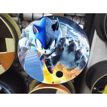 Pipa - Carretilha Madeira Média 28 Cm - Sonic