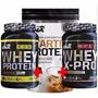 Combo Proteinas 3 Desayuno Starter Whey Pre Y Post X Pro Ena