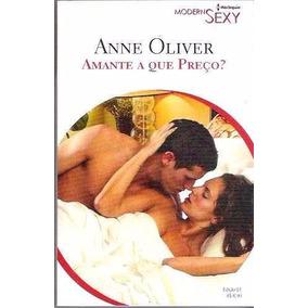 Livro Harlequin Modern Sexy Amante A Que Preço ? Nº 61