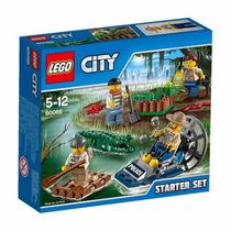 Educando Lego City 60066 Policía Del Pantano Set Inicial