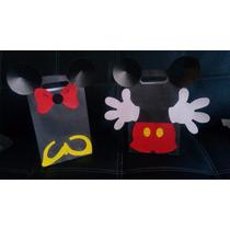 Bolsas Para Cotillones De Mickey Y Minnie Mouse