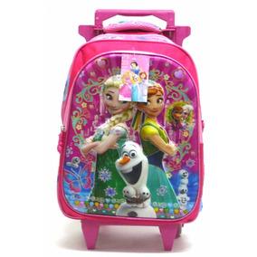 Mochila Infantil Frozen Princesa Elsa E Ana Tam M Boleto