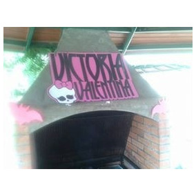 Letras De Monster High Elaboradas En Foamy!!