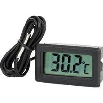 Termometro Digital Con Cable Sensor De Temperatura Pantalla
