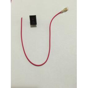Botão Interruptor Acionador Universal 12v Preto Liga Desliga