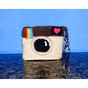 Bolsa P. Moedas Instagram De Croche_frete R$9,90