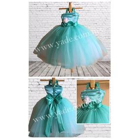 Vestido Tul Dress Tutu Presentación, Graduacion, Bautizo