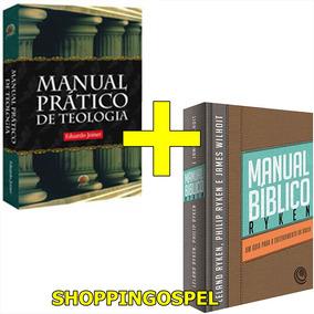Manual Prático De Teologia + Manual Bíblico Ryken