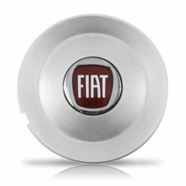 Calota Centro De Roda Esportiva Fiat Bravo Prata