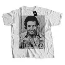 Remera Pablo Escobar Mugshot - Ruthless Republic