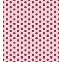 Papel Adesivo Contact Decorado 45cm X 10 Mts Poa Rosa Marrom