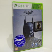 Jogo Xbox 360 Batman Arkham Origins Lacrado Português