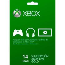 Xbox Live Gold Br Cartão 14 Dias - Envio Imediato !