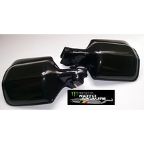 Protetor De Mão Xlx 350/sahara/nx150/200/xr 200 Na Cor Preta