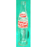 Garrafa Antiga - Coca-cola ® 290 Ml (logo Coke Quadrado) 98