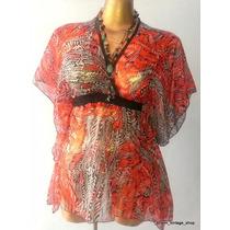 Blusa Blusón 2xl Hippie Chic Hermoso!! Sharm_vintage_shop