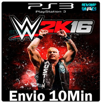 Wwe 2k16 Playstation 3 Psn Ps3 Lançamento ** Digital