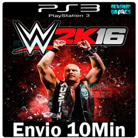 Wwe 2k16 Playstation 3 Psn Ps3 Lançamento ** Digital