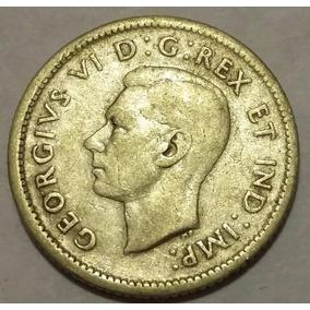 10 Centavos Plata Canada 1942