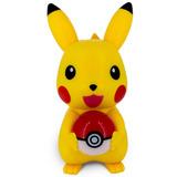 Mini Caixa De Som Pikachu Usb Sd Mp3/mp4 Fm Rádio - Pokémon