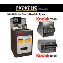 Minilab En Seco, Kodak Apex (reconstruido)