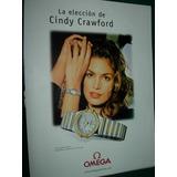 Cindy Crawford Reloj Omega Constellation Acero Oro Clipping