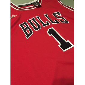 6e3ff57b3 Regata Chicago Bulls Vermelha - Camisas no Mercado Livre Brasil