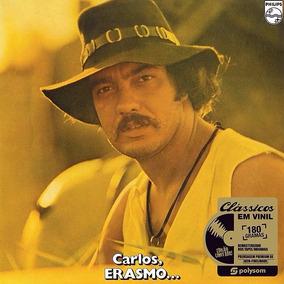 Lp Erasmo Carlos Carlos Erasmo... 1971 Novo 180g Lacrado