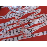 100 Pulseras De Tela Personalizadas, Souvenirs, Cumpleaños