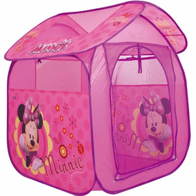 Brinquedos Menina Toca Barraca Infantil Casa Minnie Rosa