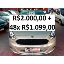 Ford Ka 1.0 Se Hacth - R$2.000 + 48x R$1.099,00