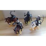 Set De Soldados Medievales A Caballo Zona Sur/caballito