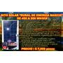 Ahorro Real Kit Solar Fotovoltaico 500 Watt/dia Flete Gratis
