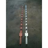 Estantillo Metalico Para Cercado Electri Hierro, Galvanizado