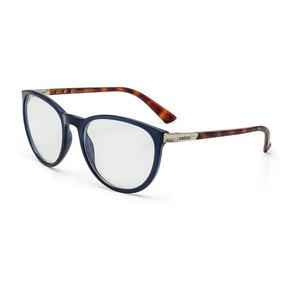 Armação Oculos Grau Colcci Donna C6059k1955 Azul Marinho